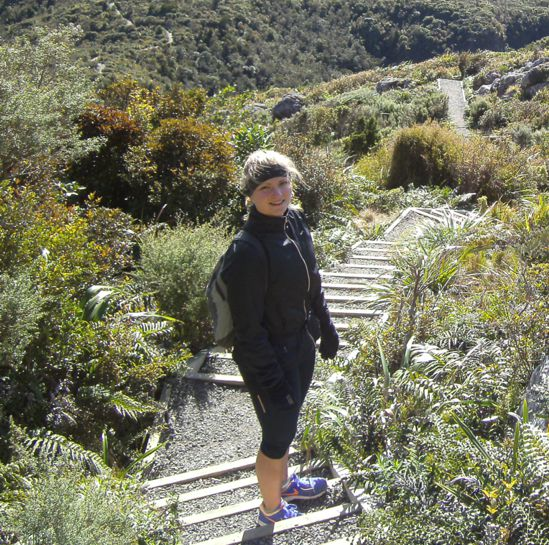 Walking in nature for women